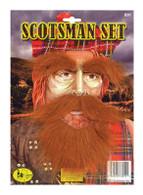 Scotsman Set (Beard, Tash, Eyebrows).