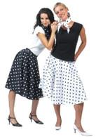 Rock N Roll Skirt White.