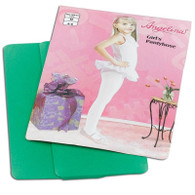 Childs Tights Green Age 4-6.