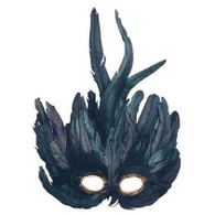 Black Feather Mask