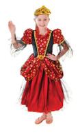 GOLD STAR PRINCESS DRESS GIRLS COSTUMES