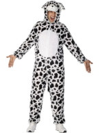"Dalmatian Costume, Chest 42""-44"", Leg Inseam 33"""