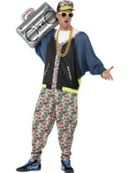 80's Hip Hop Costume, One Size