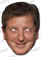Roy Hodgson Celebrity Face Card Mask