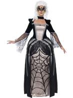 Black Widow Baroness Costume, UK 12-14