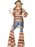 Harmony Hippie Costume, UK 16-18