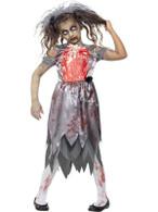 Zombie Bride Costume, Medium