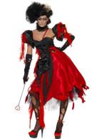Queen Of Hearts Costume, UK 12-14
