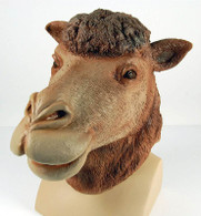 Camel Rubber Overhead Mask.