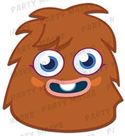 Furi Moshi Monsters Character Face Card Mask