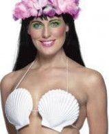 Hawaiian Seashell Bra, One Size