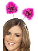 Bride to Be Warning Boppers, One Size