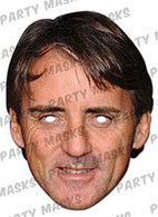 Roberto Mancini Celebrity Face Card Mask