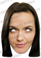 Victoria Pendleton Celebrity Face Card Mask