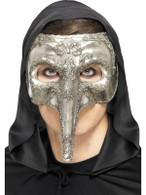 Luxury Venetian Capitano Masquerade Mask