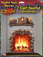 Haunted House Giant Wall Decoration