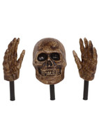 LIGHT UP HORROR LAWN STAKES, HALLOWEEN PARTY PROP