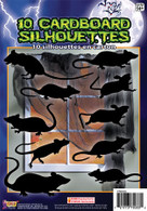 Silhouette Shadow Rats 10pc