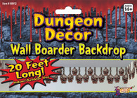Skull Border Dungeon Decoration