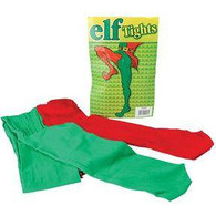 Elf Tights Red/Green .