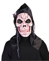 Hooded Ghost Skull Mask