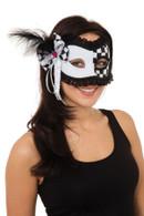 Harlequin/Jester (Glasses Frame) Eye Mask