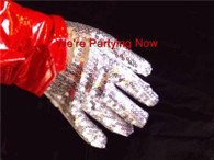 JACKO' SEQUIN GLOVE, MICHAEL JACKSON STYLE POP ICON FANCY DRESS ACCESSORY