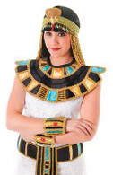CLEOPATRA EGYPTIAN COLLAR, FANCY DRESS ACCESSORY, UNISEX