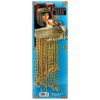 CLEOPATRA BEADED EGYPTIAN HEADPIECE, FANCY DRESS ACCESSORY