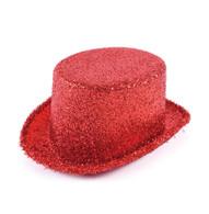 Top Hat Red Lurex