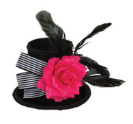 Harlequin Mini Top Hat, Day of the Dead/Halloween