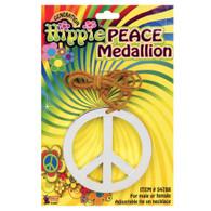 PEACE MEDALLION , FANCY DRESS ACCESSORY