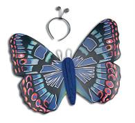 Blue Butterfly Kit & Antennae.
