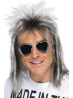 Long Blonde Spikey Wig, 80's Celebrity Wig, Fancy Dress Accessory