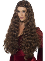Medieval Princess Wig, Tales of Old England Fancy Dress