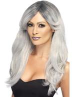 Ghostly Glamour Wig, Halloween Fancy Dress Accessories, Fancy Dress