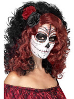 Day of the Dead Wig, Mexican Day of The Dead/Sugar Skulls, Fancy Dress