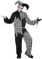 Harlequin Clown Dark Jester, Halloween
