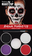 Day of the Dead Aqua Makeup Kit