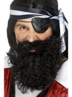 Pirate Beard.  Black