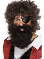 Pirate Beard.  Brown