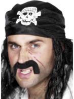 Pirate Bandanna.  One Size