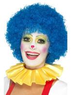 Yellow Clown Neck Ruffle, Funnyside Fancy Dress. One Size