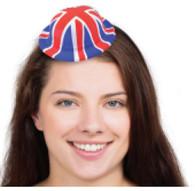 Union Jack Mini Bowler Hat