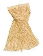 Long Length Grass Skirt 80cm Straw Coloured, XL HAWAIIAN/HULA FANCY DRESS
