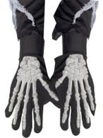 Skeleton Gloves, Adult.  One Size