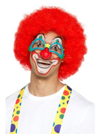Comedy Clown Specs with Rubber Nose, Jokes/Novelty/Fancy Dress