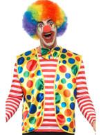 Clown Kit, Spotty Waistcoat and Bow Tie, Circus Fancy Dress