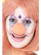 Pink Sponge Clown Nose, Circus Fancy Dress,