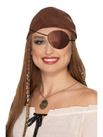 Deluxe Pirate Eyepatch, Pirate Fancy Dress
